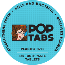 PopTabs Toothpaste Tablets with Fluoride