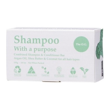 Shampoo with a Purpose Shampoo and Conditioner Bar
